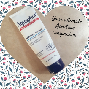 aquaphor for accutane
