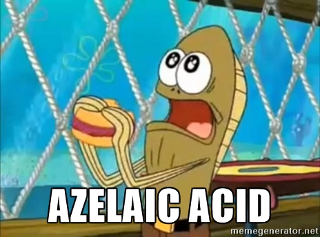 azelaic acid spongebob