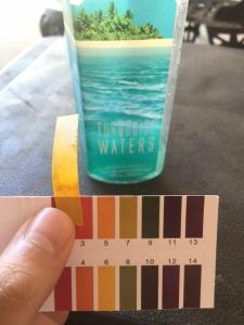 pH of hand soap