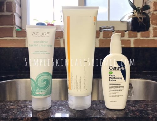3 step acne routine