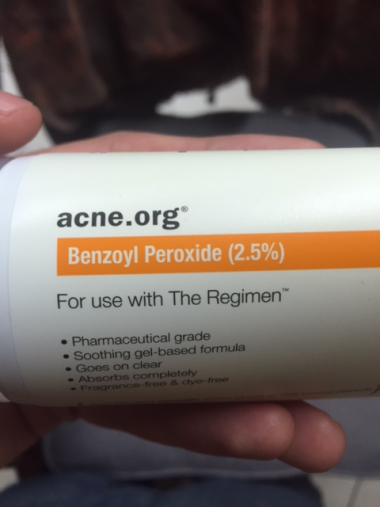 acne.org benzoyl peroxide
