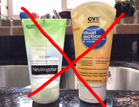acne cleansers that don't work