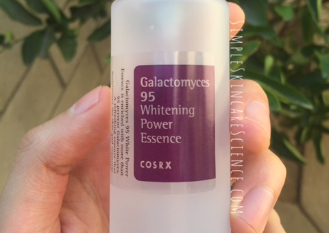 cosrx galactomyces 95 whitening power essence review a