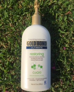 Gold Bond Ultimate Restoring Skin Therapy Lotion with CoQ10