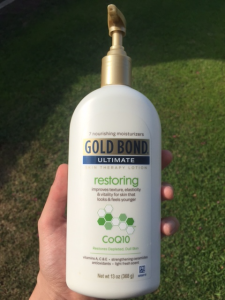 Gold Bond Ultimate Restoring Lotion with CoQ10