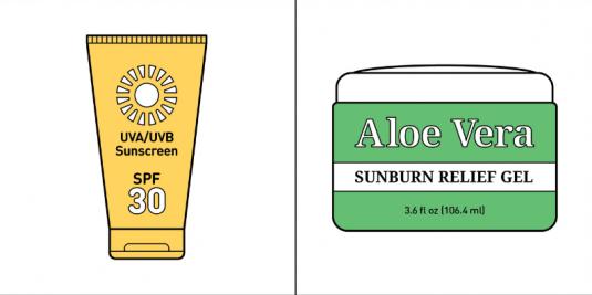 shoulda worn sunscreen