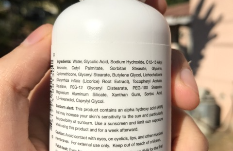 acne.org aha ingredients
