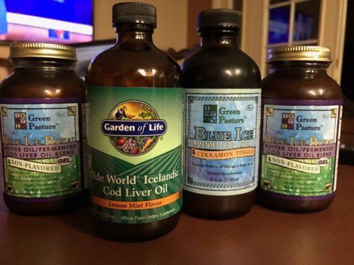 cod liver oil acne