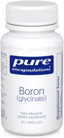 pure encapsulations boron