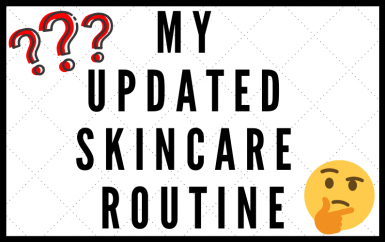 My Updated Skincare Routine and Starting a Fungal Acne Skincare Line!